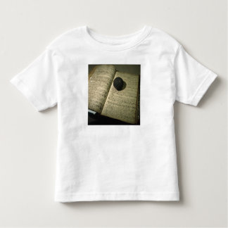 Enrollment book form the time of the Battle Toddler T-shirt