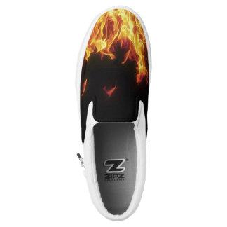 enrrollado en los zapatos de los hombres de la zapatillas