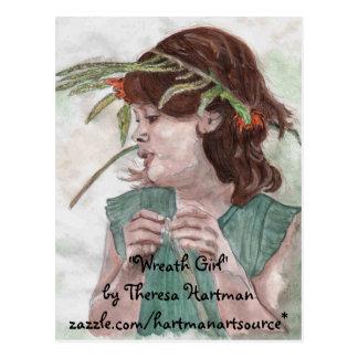 "Enrruelle la buena cosecha, ""chica de la tarjeta postal"