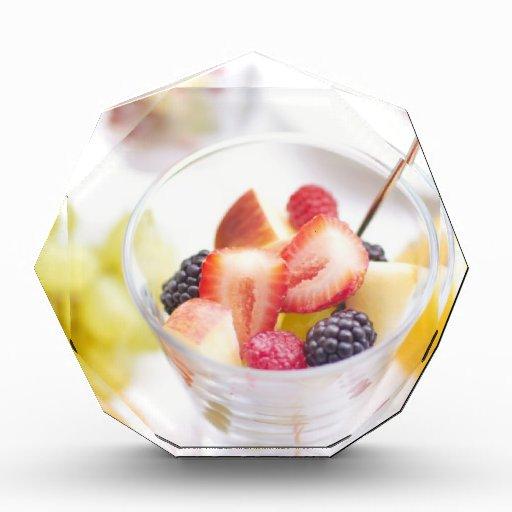 Ensalada de fruta fresca del verano