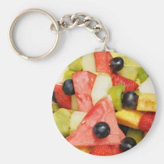 ensalada de fruta llaveros