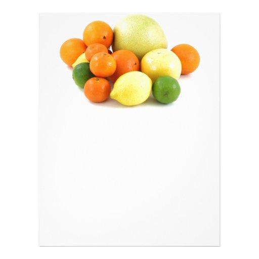 Ensalada de fruta membrete