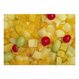Ensalada de fruta mezclada comunicado