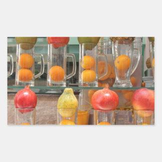 ensalada de fruta rectangular altavoz