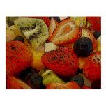 Ensalada de fruta postales