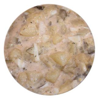 Ensalada de patata platos de comidas