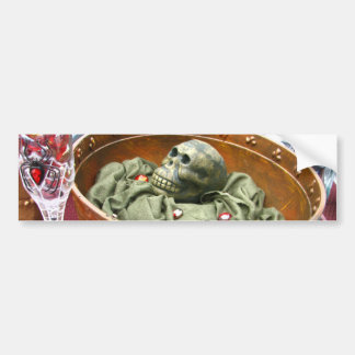 Ensalada del mono etiqueta de parachoque