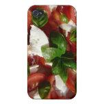 Ensalada del tomate y de la mozzarella iPhone 4 funda