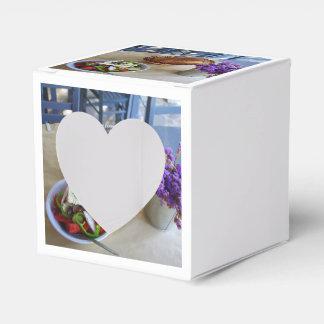 Ensalada griega caja para regalo de boda
