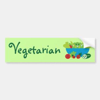 Ensalada linda etiqueta de parachoque