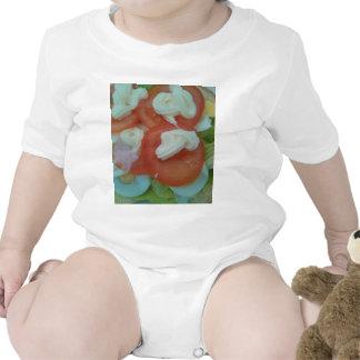 Ensalada sana de la primavera traje de bebé