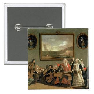 Ensayo de una ópera pin cuadrada 5 cm