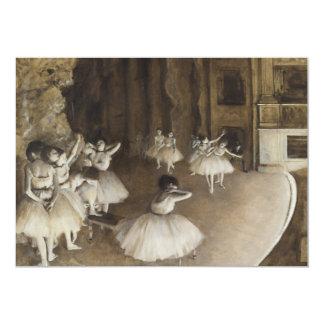 Ensayo del ballet en etapa de Edgar Degas
