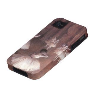 Ensayo del ballet en la etapa de Edgar Degas Case-Mate iPhone 4 Carcasa
