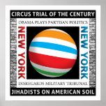 Ensayo del circo de Nueva York Posters