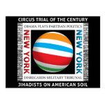 Ensayo del circo de Nueva York Tarjeta Postal