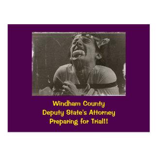 Ensayo del condado de Windham: Postal