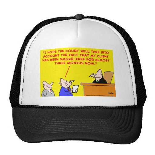 ensayo del juez que fuma gorra