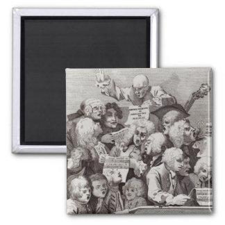Ensayo del oratorio de Judith, 1734 Imán Cuadrado