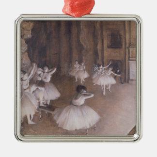 Ensayo en la etapa 1874 del ballet ornamento para arbol de navidad
