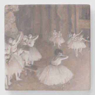Ensayo en la etapa, 1874 del ballet posavasos de piedra
