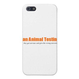 ¡Ensayos con animales de la prohibición! Parodia d iPhone 5 Funda