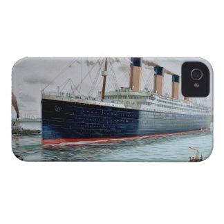 Ensayos de mar del RMS titánicos iPhone 4 Case-Mate Funda