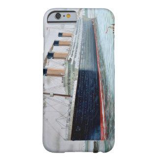 Ensayos de mar del RMS titánicos Funda De iPhone 6 Barely There