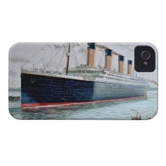 Ensayos de mar del RMS titánicos Case-Mate iPhone 4 Carcasas