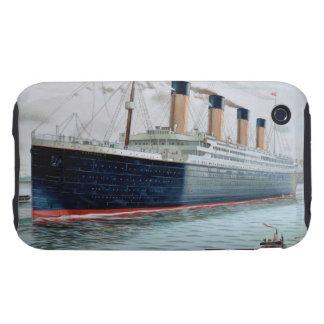 Ensayos de mar del RMS titánicos Tough iPhone 3 Cárcasa