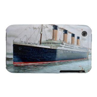 Ensayos de mar del RMS titánicos iPhone 3 Case-Mate Funda