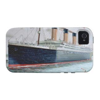 Ensayos de mar del RMS titánicos Case-Mate iPhone 4 Fundas