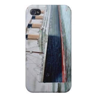 Ensayos de mar del RMS titánicos iPhone 4 Carcasa