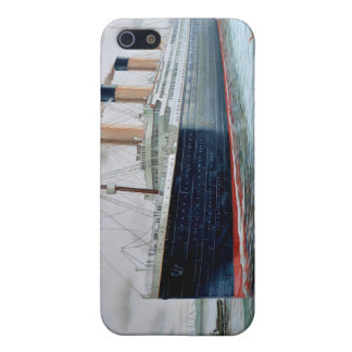 Ensayos de mar del RMS titánicos iPhone 5 Fundas