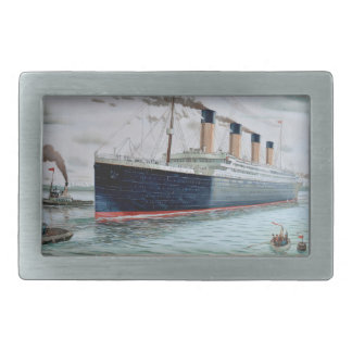 Ensayos de mar del RMS titánicos Hebillas De Cinturón Rectangulares