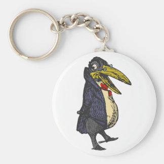 enseña rabe academic raven llavero personalizado