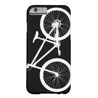 Ensenada blanco y negro del caso del iPhone 6 de Funda Para iPhone 6 Barely There
