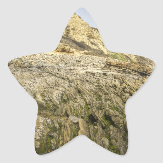 Ensenada cristalina pegatina en forma de estrella