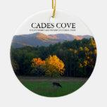 Ensenada de Cades - ciervo Widlife - ornamento del Ornamento Para Arbol De Navidad
