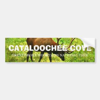 Ensenada de Cataloochee - Great Smoky Mountains Pegatina De Parachoque
