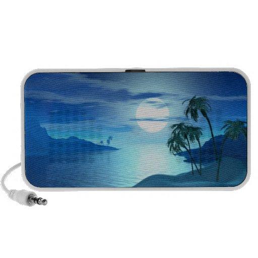 ensenada de la isla iPhone altavoz