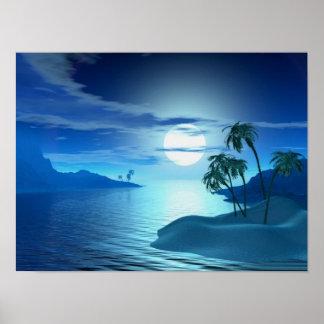 ensenada de la isla posters