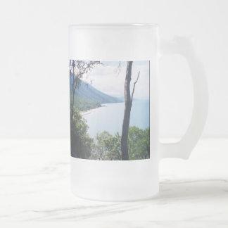 Ensenada de la palma taza de cristal
