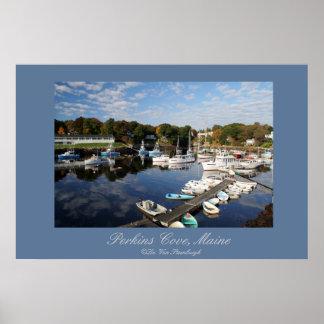 Ensenada de Perkins, impresión de Maine Impresiones