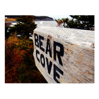 Ensenada del oso postal