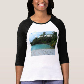 Ensenada en Tahití Camiseta