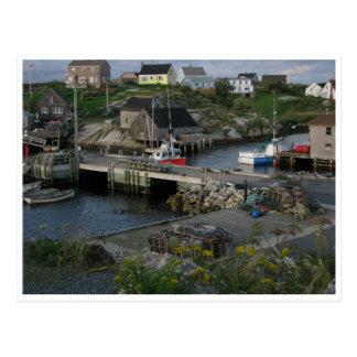 Ensenada Halifax Nueva Escocia Canadá de Peggys Tarjeta Postal
