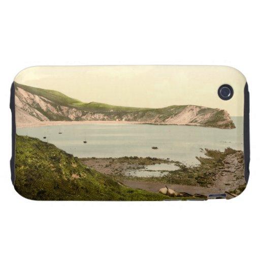Ensenada I, Dorset, Inglaterra de Lulworth Tough iPhone 3 Cobertura