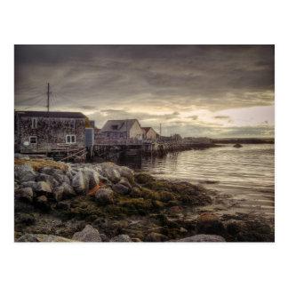 Ensenada Nueva Escocia Canadá de Peggys Postales