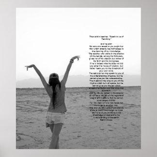Enseñanza de Kahlil Gibran Impresiones